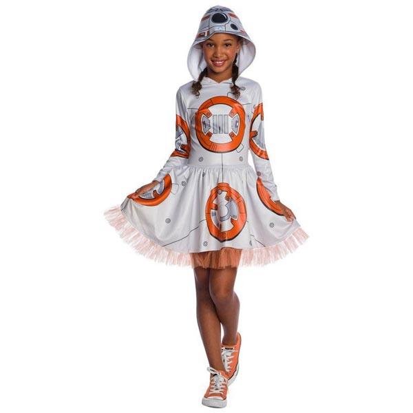 スターウォーズ BB-8 子供 チュチュワンピース コスチューム 衣装 ハロウィン イベント 仮装 スター・ウォーズ エピソード7