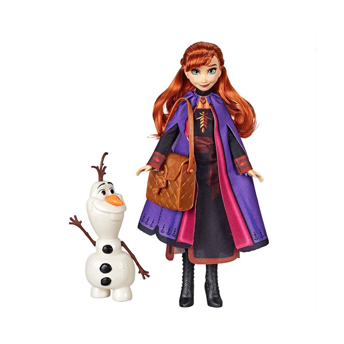 アナと雪の女王 グッズ ディズニー 人形 アナ ファッション ドール プレイセット オラフ フィギュア