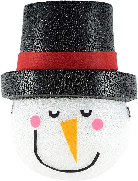 通常便なら送料無料 再再販 ランタン 装飾 飾り デコレーション インテリア ポーチライトカバー 玄関 雪だるま 海外輸入 クリスマス