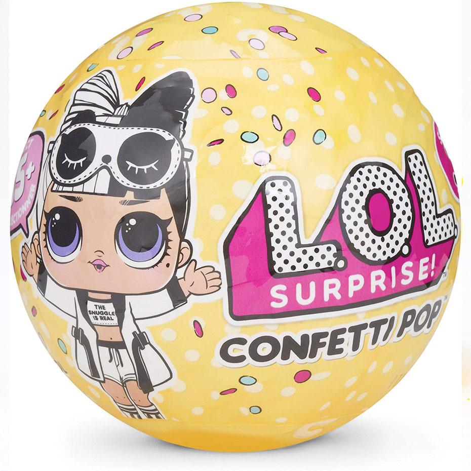 L.O.L. サプライズ!コンフェッティポップ シリーズ3 クリスマス プレゼント 誕生日 ギフト おもちゃ 人形 通常便は送料無料