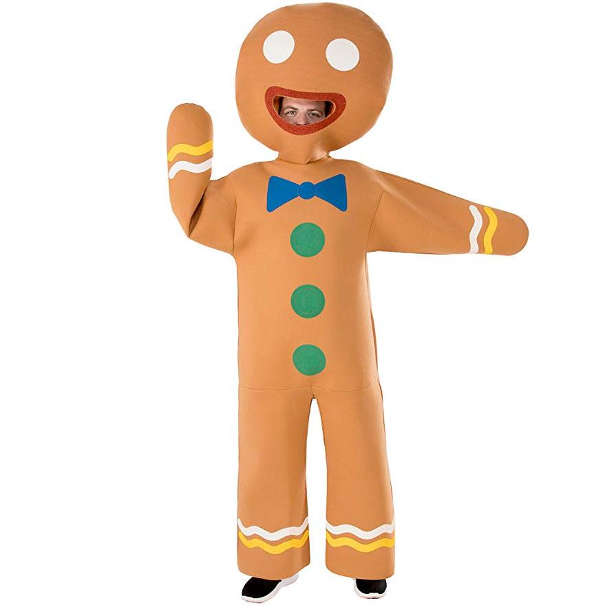 ジンジャーブレッドマン クッキーマン コスチューム 大人 衣装