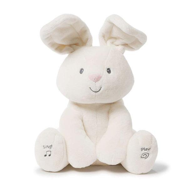赤ちゃん おもちゃ 癒し ぬいぐるみ うさぎ GUND おしゃべり 耳が動く 30.5cm 【通常便なら送料無料】