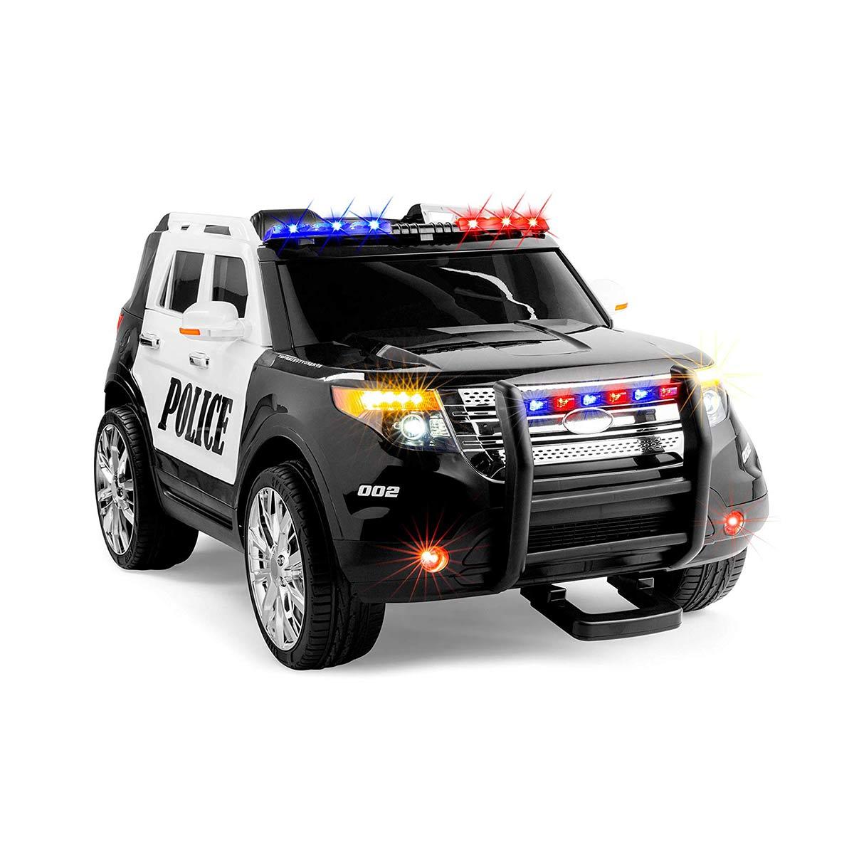 おもちゃ 電動 乗用 自動車 パトカー エレクトリック ポリス ライドオン SUV リモコン付き 子供 乗用玩具 通常便は送料無料