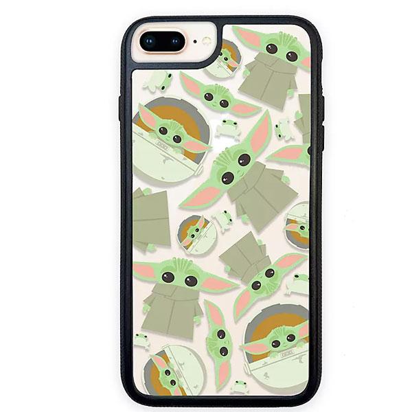 スターウォーズ グッズ マンダロリアン チャイルド ベビーヨーダ 3-D iPhone 6 Plus / 6s Plus / 7 Plus / 8 Plus ケース 通常便は送料無料