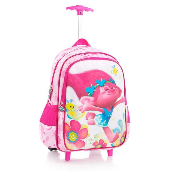 トロールズ グッズ かばん ローリング バックパック キッズ 旅行 バッグ 通常便は送料無料