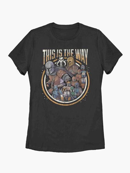 マンダロリアン tシャツ This Is The Way グループ スターウォーズ レディース Tシャツ 大人 通常便は送料無料