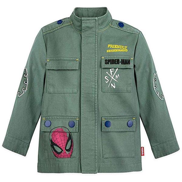 スパイダーマン キッズ アウター 男の子 ミリタリー ジャケット 子供 通常便は送料無料