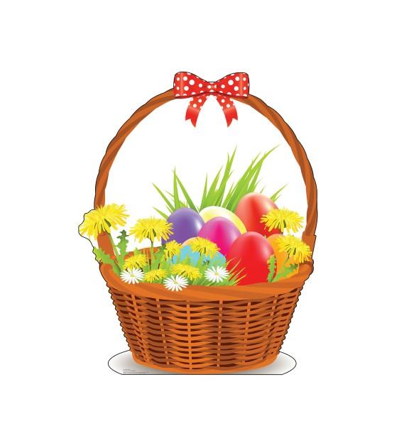 イースター 飾り 立て看板 エッグバスケット イベント サイン 春 復活祭 スタンドアップ