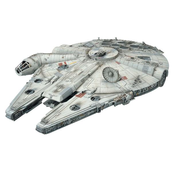 スターウォーズ グッズ ミレニアムファルコン 宇宙船 1/72 スケール フィギュア プラモデル キット 模型 おもちゃ 玩具 レベル Revell