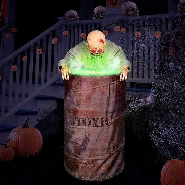 ゾンビ 人形 ポーズを決められる ハロウィン デコレーション ホラー 怪物 モンスター 人形 お化け屋敷 飾り 置物 ホビー ハロウィン 通常便は送料無料