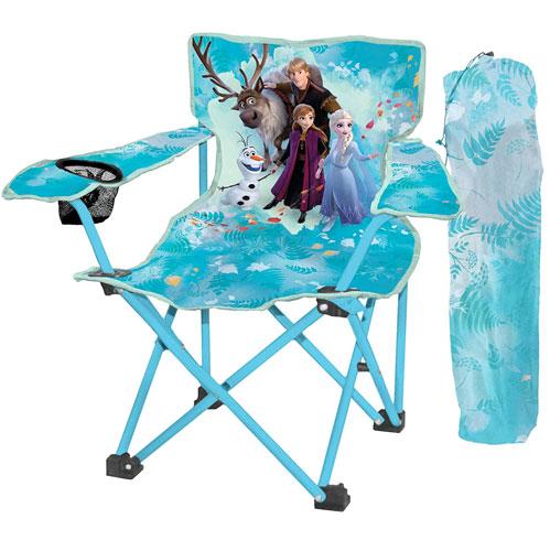 アナと雪の女王 グッズ 折り畳み 椅子 チェア キャノピー UPF50+ 子供用 キャンプ ピクニック ビーチ エルサ スヴェン クリストフ オラフ 通常便は送料無料
