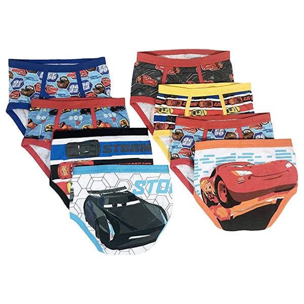 子供 パンツ キッズ 下着 男の子 8枚セット ディズニー ボーイズ カーズ3 ブリーフ 通常便は送料無料