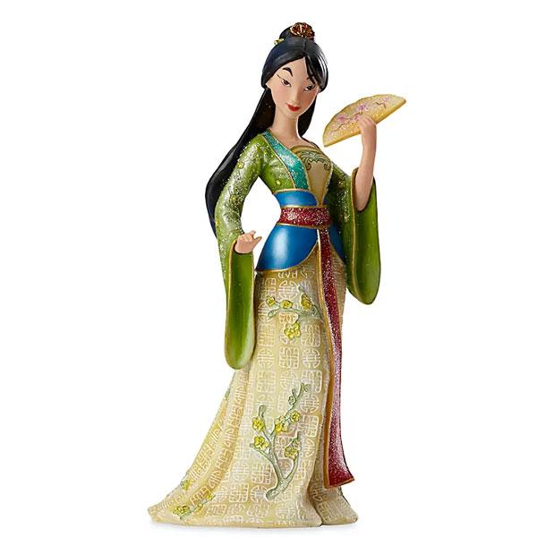 ディズニー ムーラン フィギュア 人形 映画 プリンセス コレクション 彫刻 手作り 通常便は送料無料