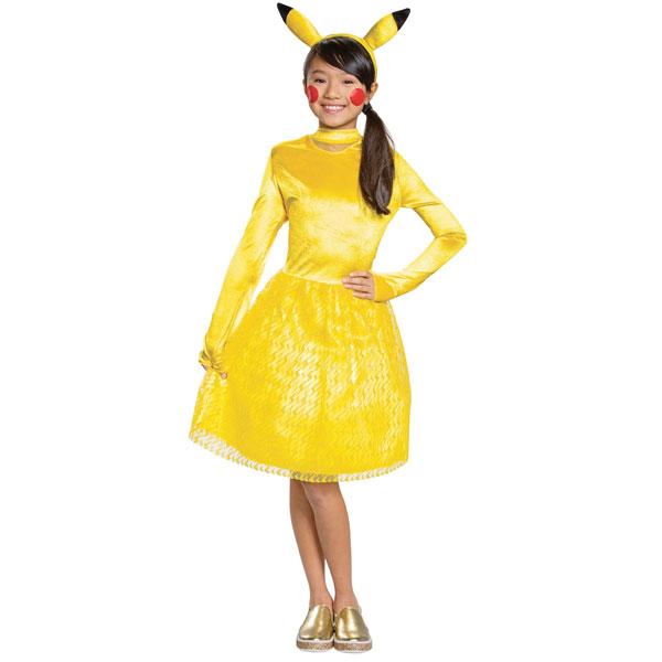 ポケモン グッズ ピカチュウ 衣装 コスチューム 子供用 ドレス ワンピース ポケットモンスター ハロウィン 通常便は送料無料