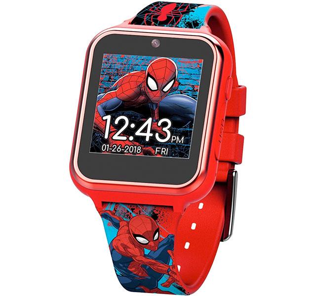スパイダーマン グッズ タッチスクリーン ウォッチ シリコンストラップ レッド 19.5 (Model:SPD4588AZ) 通常便は送料無料