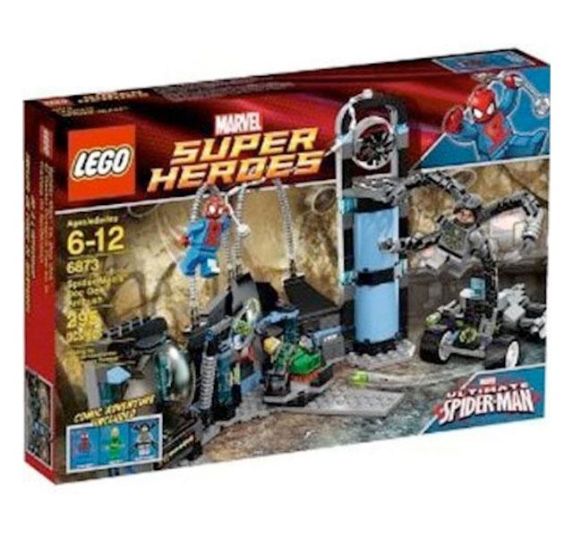 スパイダーマン おもちゃ レゴ スーパーヒーローズ Doc Ock Ambush 6873 LEGO 通常便は送料無料
