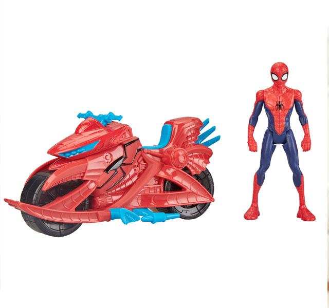 スパイダーマン フィギュア スパイダー サイクル おもちゃ 通常便は送料無料