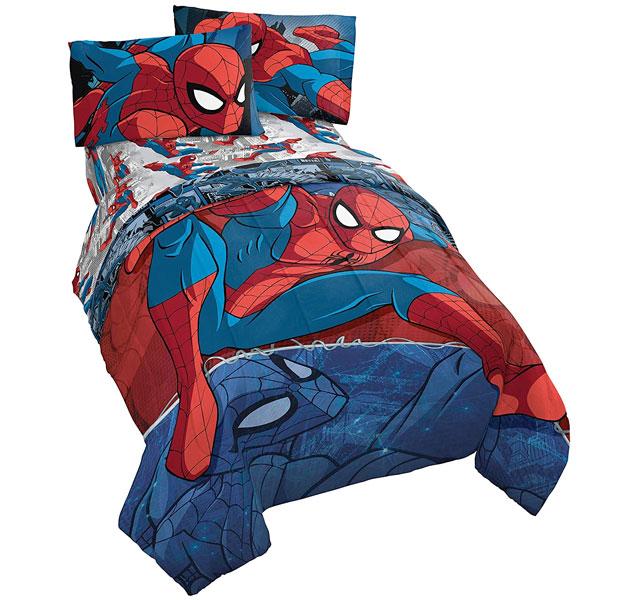 通常便なら送料無料 ご注文で当日配送 スパイダーマン 布団 セット グッズ 掛け布団 シーツセット バースデー 記念日 ギフト 贈物 お勧め 通販 シングルサイズ 部屋 Spiderman 通常便は送料無料 寝具 Burst マーベル 子供