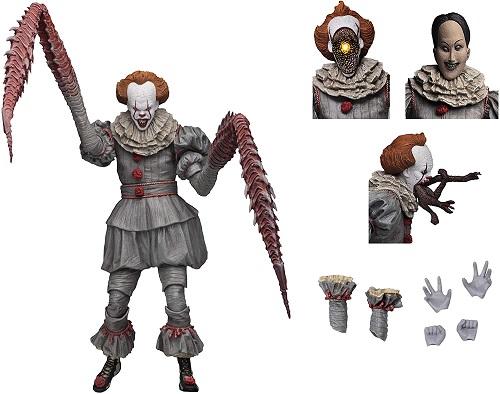 ペニーワイズ フィギュア グッズ IT イット 映画 人形 ホラー 怖い ダンシングクラウン キャラクター