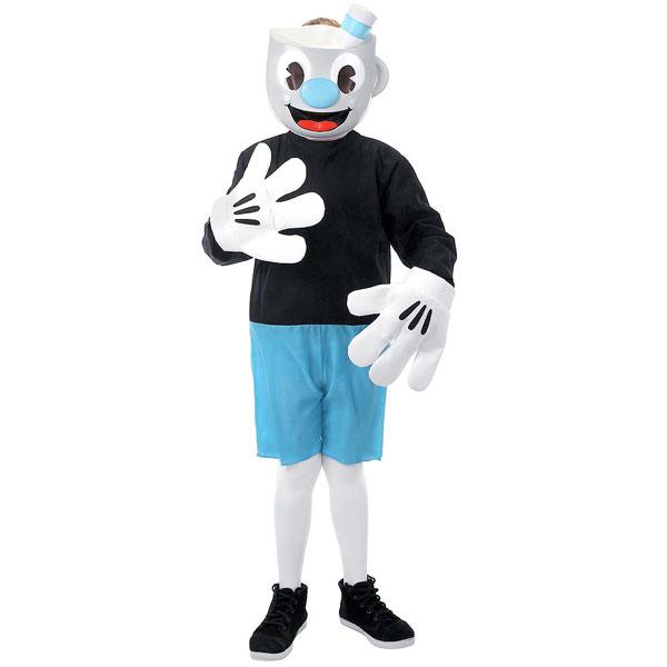 カップヘッド マグマン コスプレ 子供 キッズ コスチューム ハロウィン イベント 仮装 衣装 通常便は送料無料