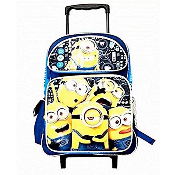 ミニオングッズ キャリーバッグ 30.4cm ローリングバックパック 怪盗グルーのミニオン大脱走 スーツケース 通常便は送料無料