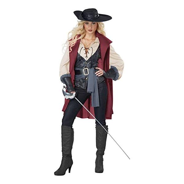 三銃士 マスケット コスチューム 大人用 コスチューム 銃兵 海賊 コスプレ ハロウィン 通常便は送料無料