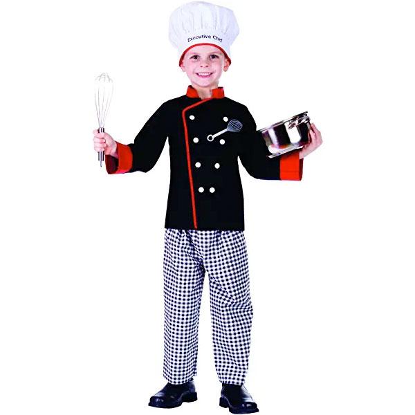 シェフ コック コスチューム 子供用 衣装 ごっご遊び おままごと コスプレ 仮装 ハロウィン 料理人 通常便は送料無料