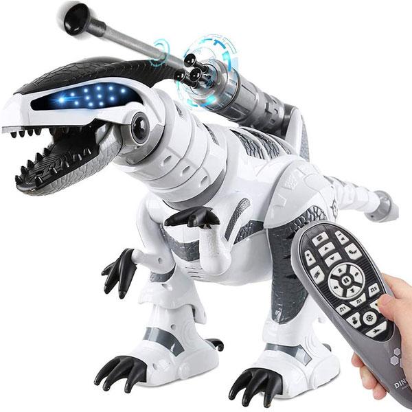 通常便なら送料無料 恐竜 ロボット ロモコン付き ダイナソー リモコン 子供 春の新作シューズ満載 誕生日 お祝い プレゼント おもちゃ 通常便は送料無料 ギフト クリスマス