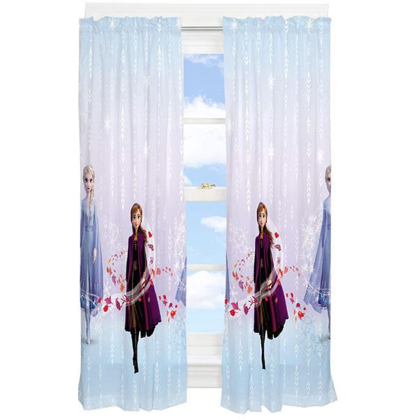 ディズニー アナと雪の女王 カーテン 子供部屋 保育園 プレイルーム 208.2cmx160cm 通常便は送料無料