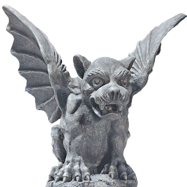 ハロウィンデコレーション 守護神 魔除け フィレンツェのガーゴイル 彫像 置物 ガーデン インテリア ハロウィン デコレーション 装飾 飾り グッズ
