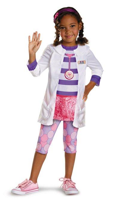 ディズニー コスチューム 子供 ドックはおもちゃドクター グッズ コスプレ 仮装 医者 衣装