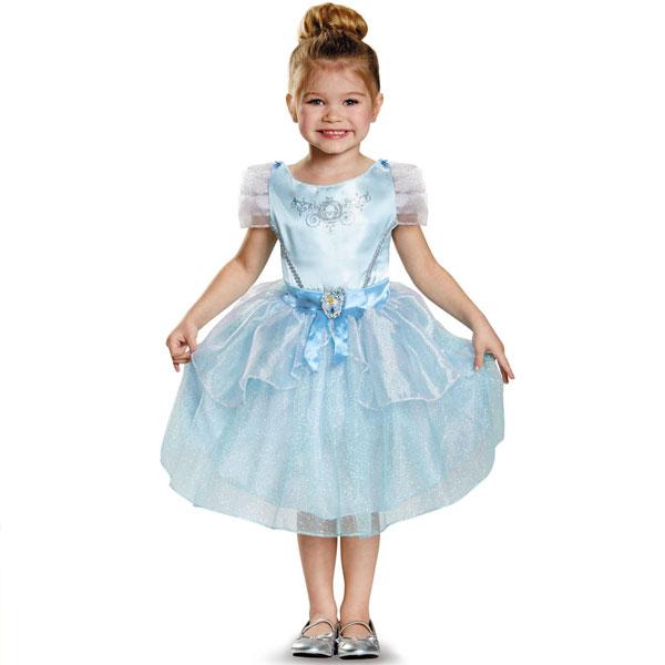通常便なら送料無料 ディズニー 映画 プリンセス シンデレラ 蔵 コスプレ シンデレラコスチューム 幼児用 衣装 正規品 キッズ ハロウィン クラシック