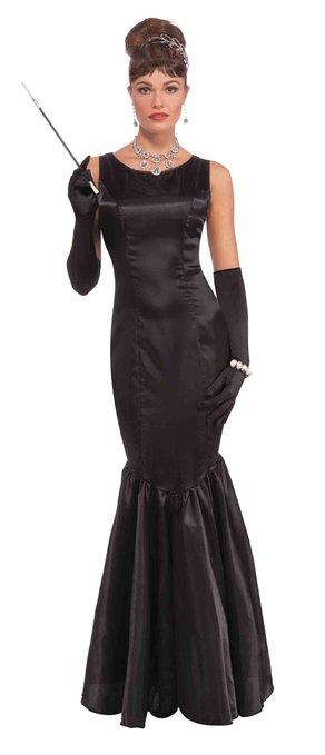 コスプレ 衣装 ティファニーで朝食を オードリー ヘップバーン ホリー ゴライトリー 大人 コスチューム ドレス ワンピース 女性