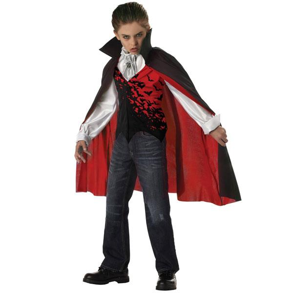 闇の王子様 吸血鬼 ドラキュラ 子供用 コスチューム ハロウィン バンパイア コスプレ パーティー 舞台 劇 祭り 衣装