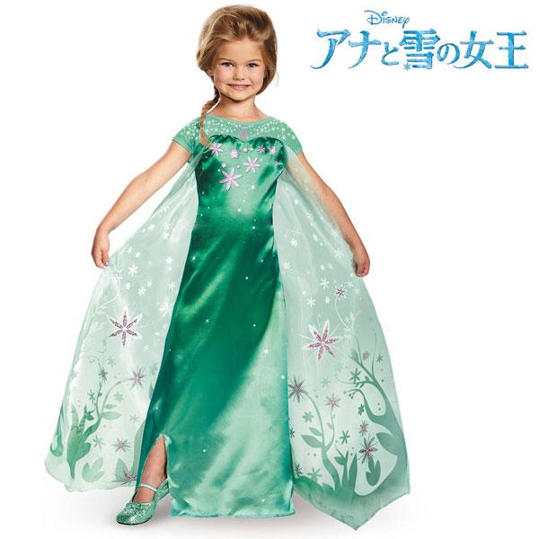 ハロウィン 衣装 子供 ディズニー コスチューム 子供 アナと雪の女王 エルサのサプライズ ドレス エルサ 女の子用 プリンセス 仮装 コスプレ