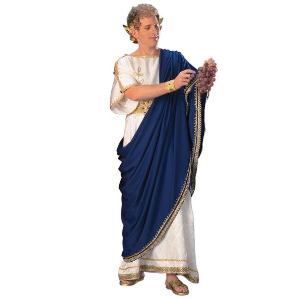 古代 ローマ 皇帝 ネロ 至高の コスチューム 男性 大人用 ハロウィン コスプレ パーティー テルマエ 衣装 パジェント ページェント