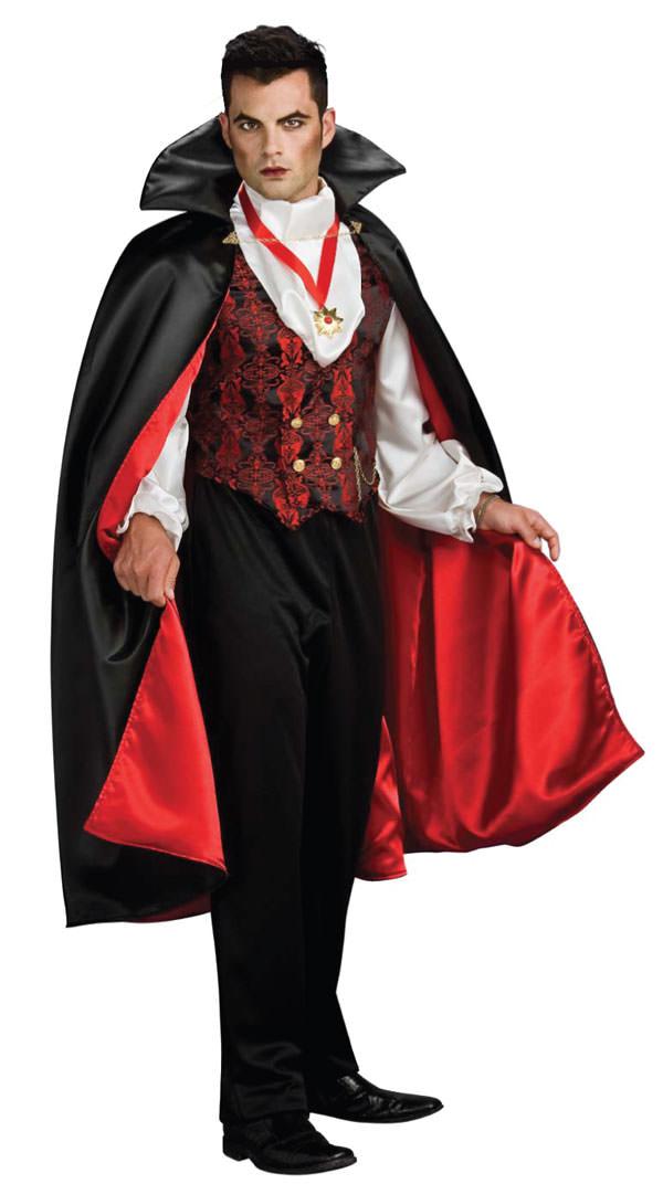 バンパイア 吸血鬼 コスチューム 男性用 大人 コスプレ 衣装 仮装 ハロウィン