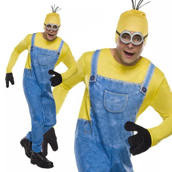 ミニオンズ ケビン 大人用 コスチューム ハロウィン コスプレ 衣装 USJ ユニバ 仮装 パレード
