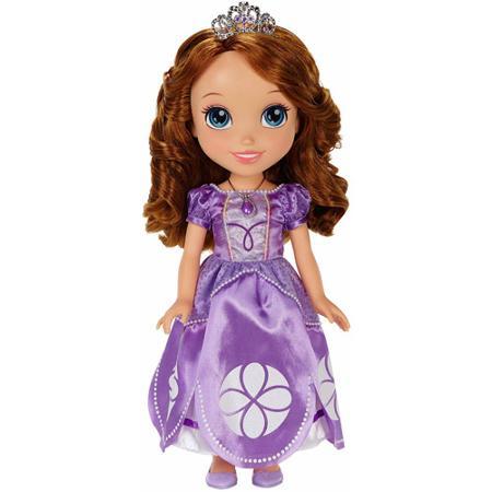 ちいさな プリンセス ソフィア 幼児用 人形 ギフト プレゼント パープル 紫 お姫様 女の子 ディズニー