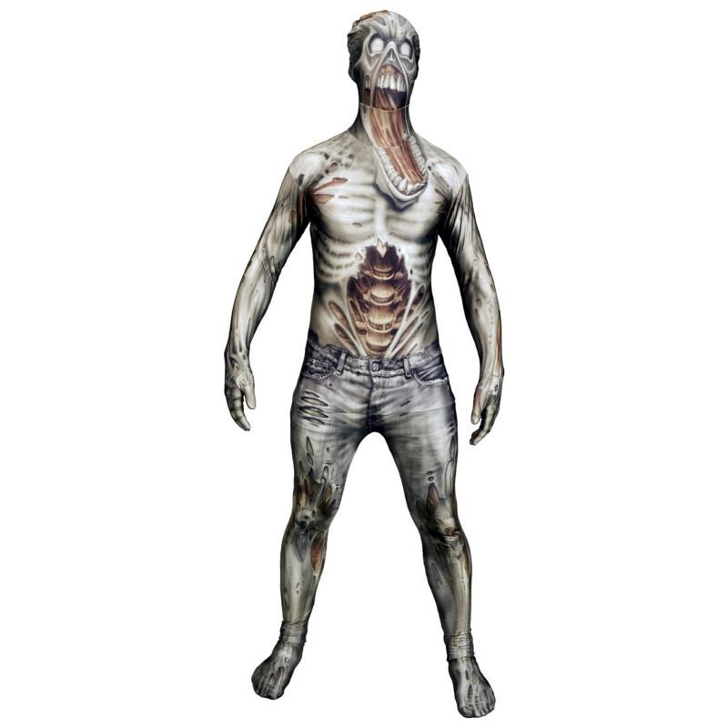 Acomes Body Tights Zombie Adult Costume Monsters Collection