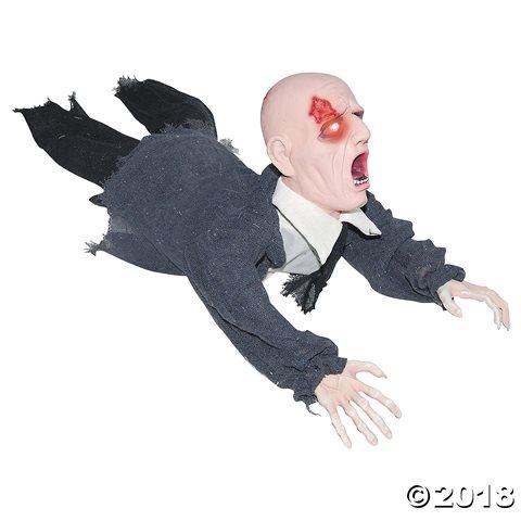 デコレーション 人形 装飾 這うゾンビ お化け屋敷 飾り 恐怖 ホラー グッズ 動く はい歩くゾンビ