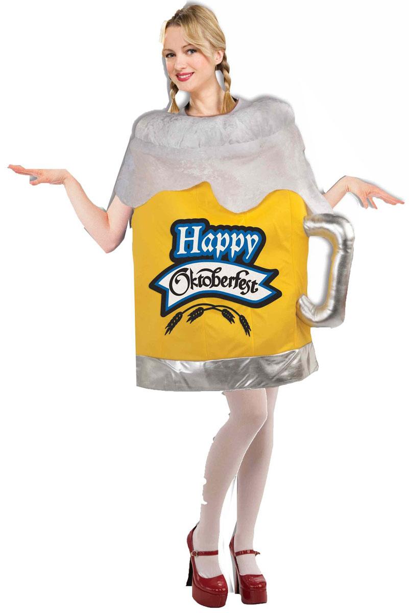 オクトーバーフェスト 売り子 おもしろい コスチューム コスプレ 大人 ビール ジョッキ お酒 飲み物 飲食 目立つ 女性