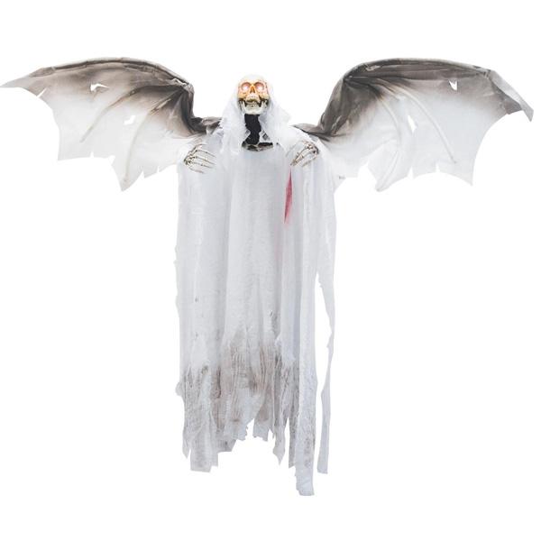 堕天使 死神 動く ハロウィン 装飾 デコレーション 不気味 怖い 狂気 お化け 屋敷