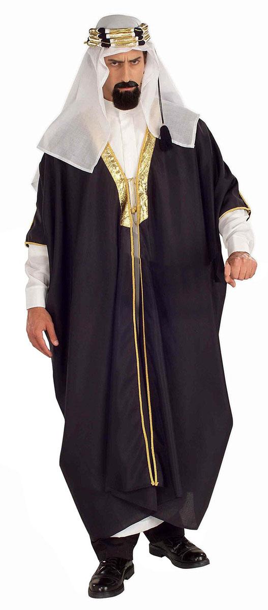 アラブ 中東 大富豪 大人 男性用 コスチューム コスプレ 仮装 衣装 ハロウィン 商人 エジプト サウジアラビア アラビアン お金持ち 石油王 クーフィー シーク 砂漠