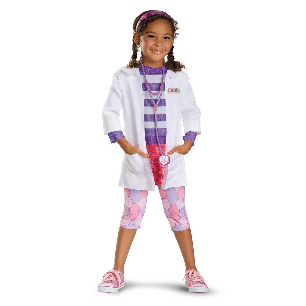 ドックはおもちゃドクター ディズニー コスチューム デラックス 子供 コスプレ 仮装 医者 衣装