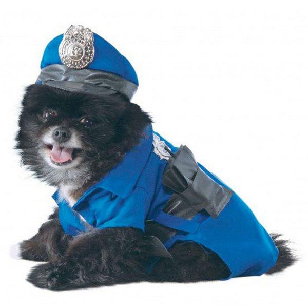 通常便なら送料無料 犬の服 ペット ポリス コスチューム 犬 即日出荷 服 通常便は送料無料 コスプレ イベント 衣装 写真 パーティー ハロウィン 年間定番