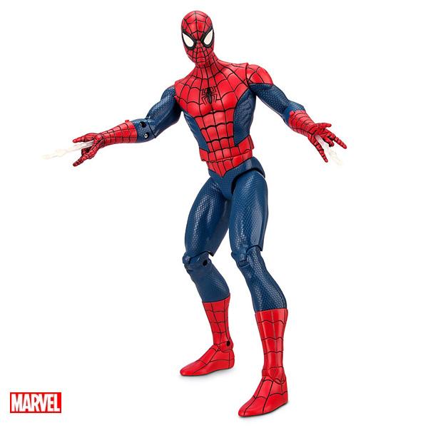 スパイダーマン フィギュア 話す ウェブスパイダーを出す おもちゃ 人形 海外版