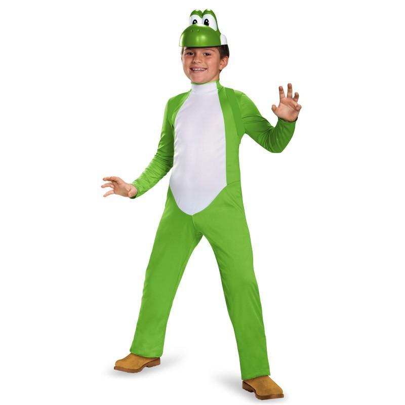 ヨッシー 着ぐるみ スーパーマリオブラザーズ コスチューム コスプレ 仮装 きぐるみ ゲーム キャラクター 子供 子ども キッズ テレビゲーム
