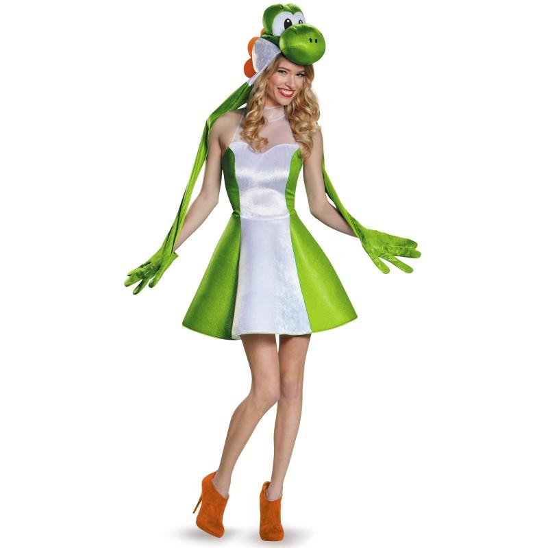 ヨッシー 着ぐるみ スーパーマリオブラザーズ コスチューム コスプレ 仮装 きぐるみ ゲーム キャラクター 大人 女性用 テレビゲーム