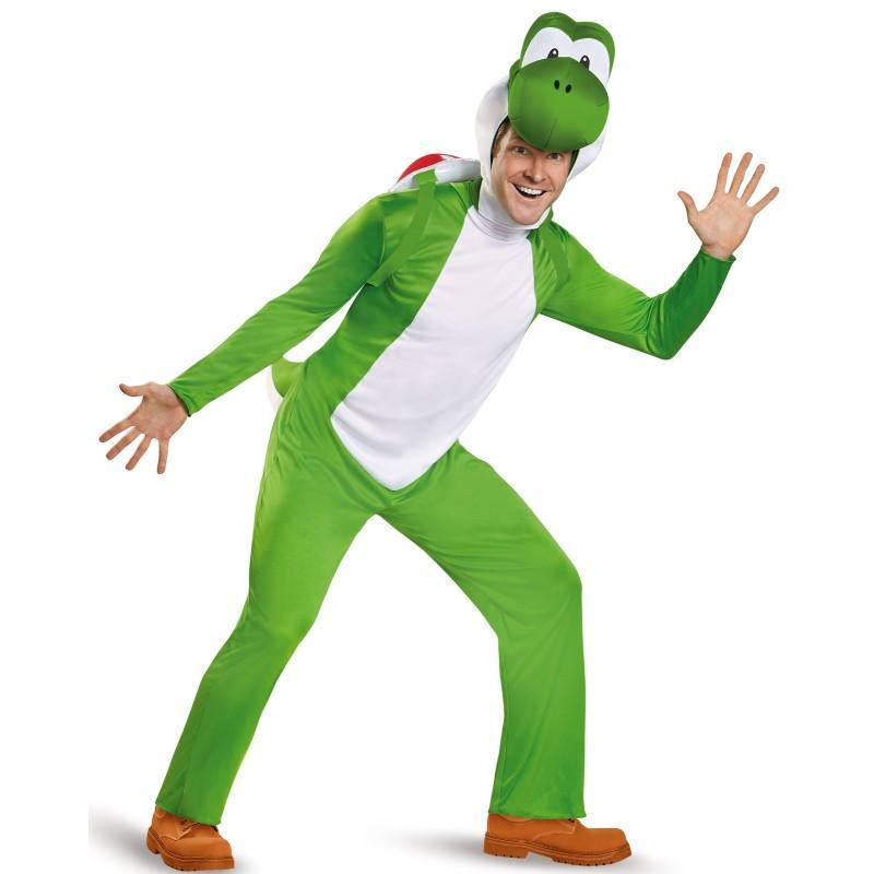 ヨッシー 着ぐるみ スーパーマリオブラザーズ コスチューム コスプレ 仮装 ゲーム キャラクター 大人 男性用 メンズ 大きいサイズ テレビゲーム